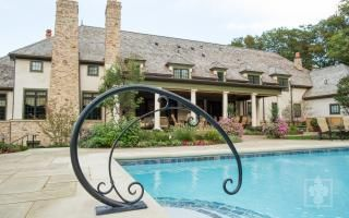 Best Aristotle Design Group Landscape Design Iron Pool Rail 640 x 480
