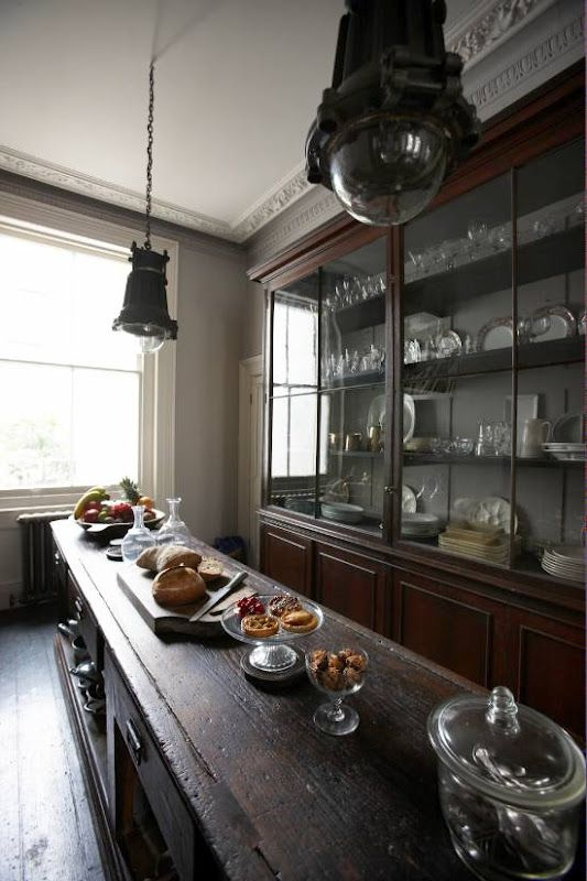Pantry/scullery ideas- this is all about the island/work top in the middle...just an idea that maybe the pantry/scullery could also be a food prep/work area..?