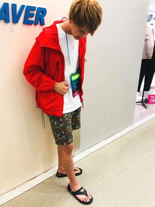junnosuke ono beaver池袋店 manastashのマウンテンパーカーを使ったコーディネート wear パーカー マウンテンパーカー ファッション