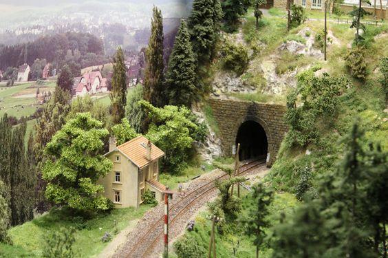 H0 Modellbahn Wolzerdange   Modellbahn