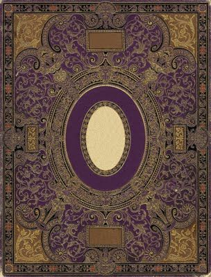 ornate antique book cover- many designs to print on this site ...