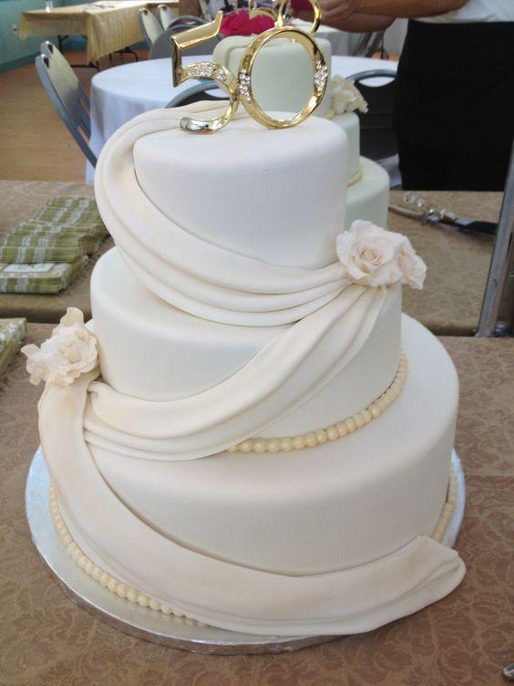 50th wedding anniversary cake bernie bakes pinterest for 50th birthday cake decoration ideas