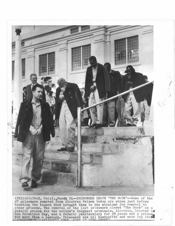 Before After 1963 Bi Level Remodeling In Boulder Colorado: Vintage Original Press Photo Of The Last Prisoners Leaving