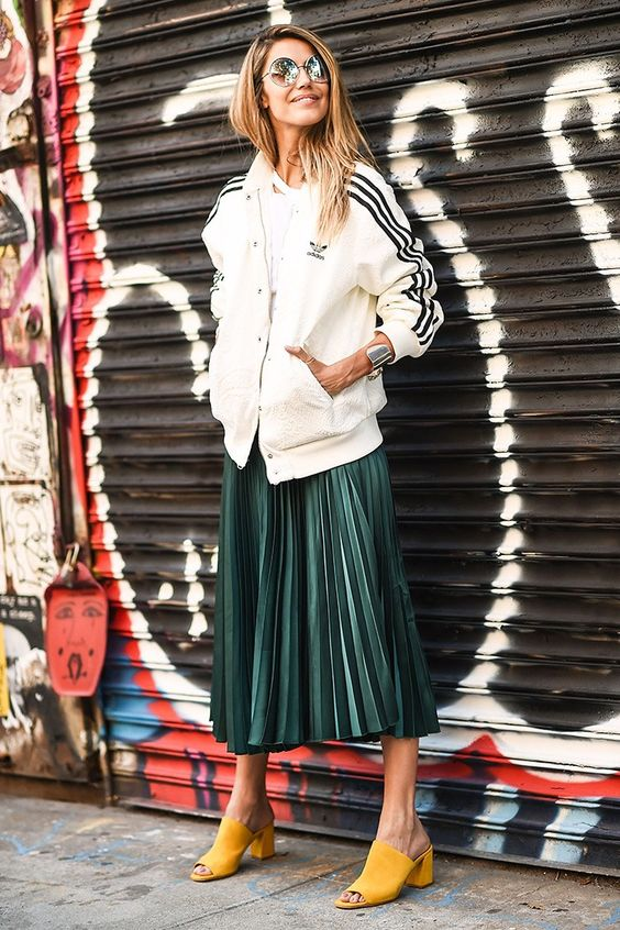 Forget Jeans—This Is What Everyone Wore at NYFW via @WhoWhatWear