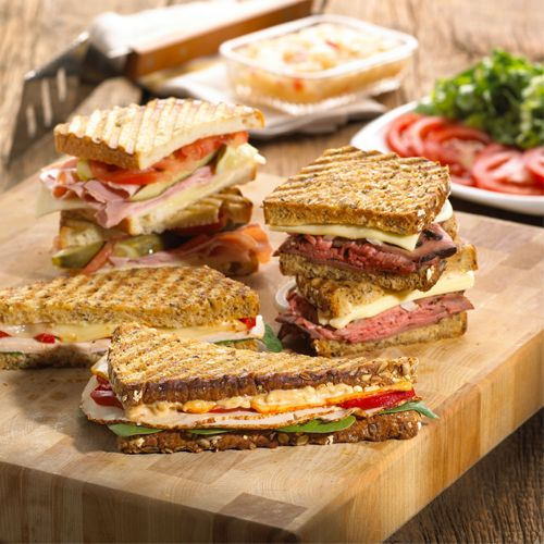 You don't need a panini press to make this trio - grab the recipe & make it on the grill!