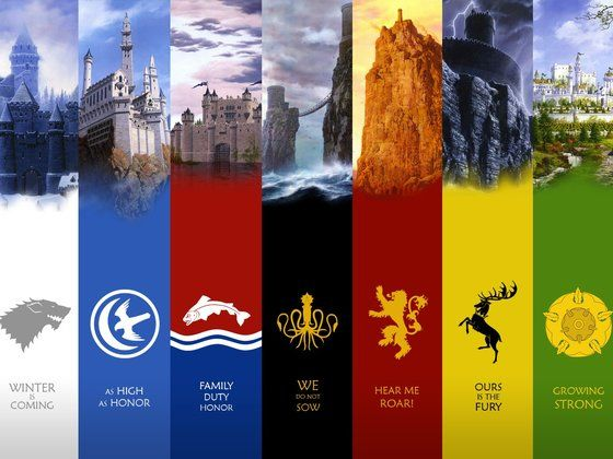 Which Game of Thrones House Do You Belong in?  Mine is House Tully..Family, Duty, Honor..