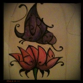 Custom tattoo drawn for a family member. Can anyone read the names? #tattoos #art