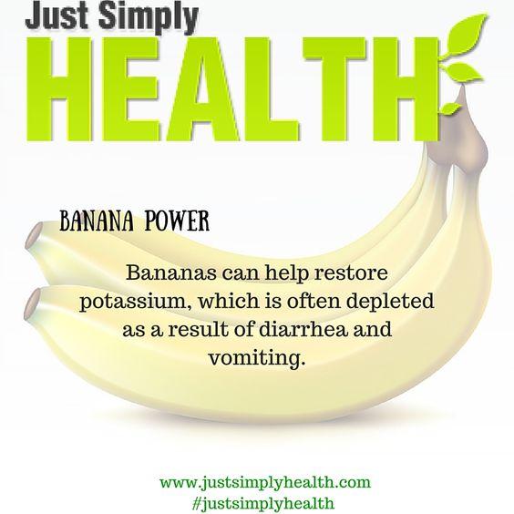 BANANA Power!  We love banana's...Do you?  #justsimplyhealth #naturaltherapies