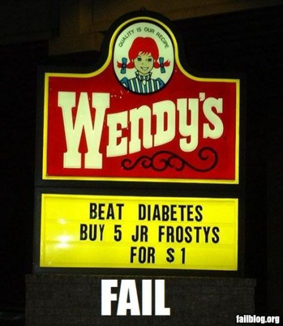 Maybe not the best way to beat diabetes.