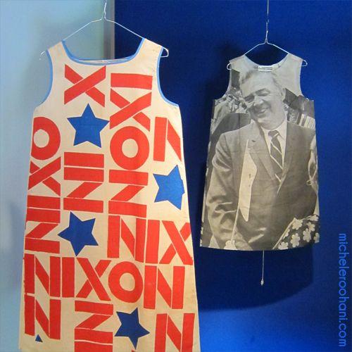 nixon Eugene McCarthy election paper dresses michele roohani: