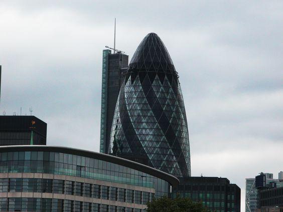 The Gherkin, Swiss Ra Building  London UK June 2011