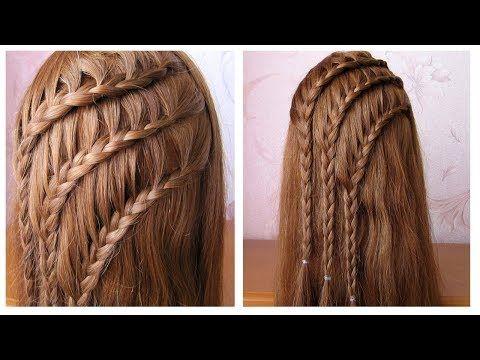 Videotuto Coiffure Avec Tresses Tuto Coiffure Simple Cheveux Long Mi Long Easy Braid Idees De Coiffures Coiffure Simple Cheveux Longs Coiffures Simples
