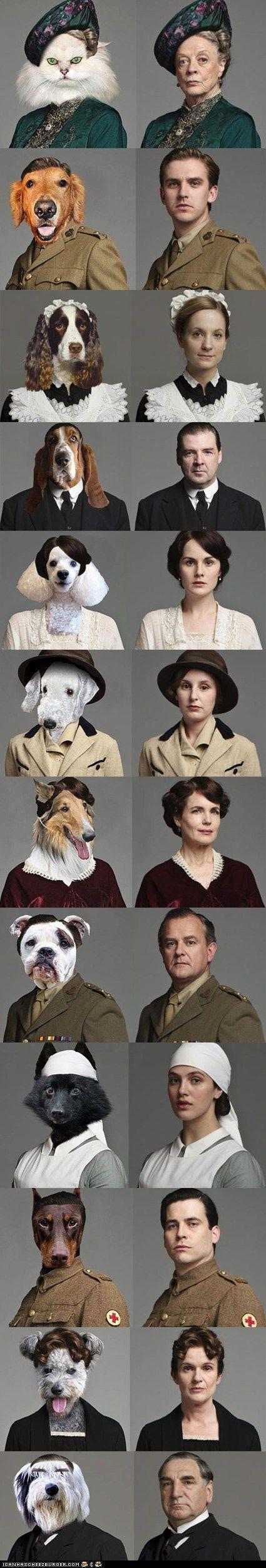 Downton Abbey... hahahahaha!!