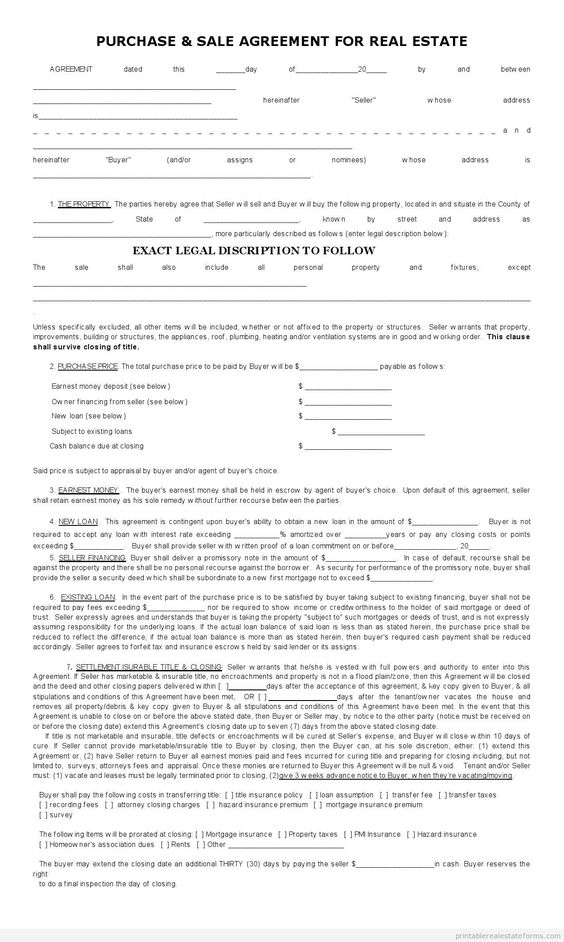 Doc685955 Blank Sales Contract Doc685955 Blank Sales Contract – Blank Purchase Contract