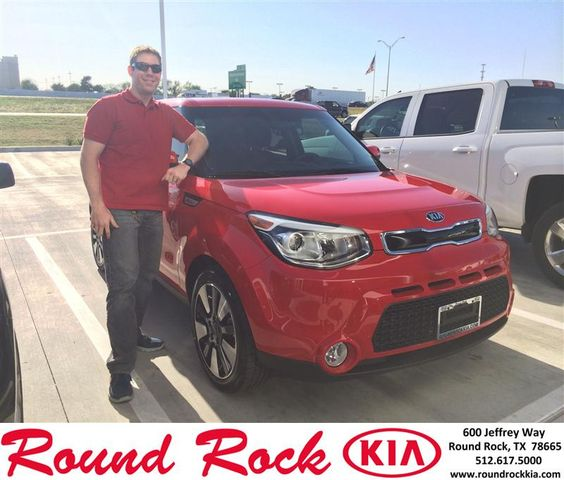 Congratulations to Aaron Fink on your #Kia #Soul purchase from Ruth Largaespada at Round Rock Kia! #NewCar