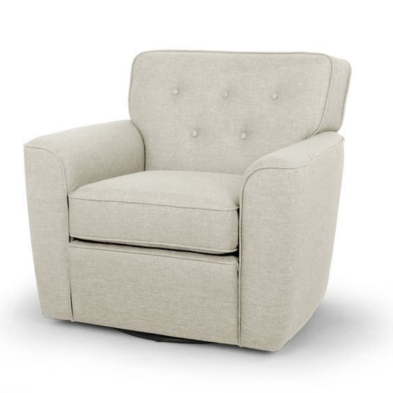 baxton studio canberra contemporary beige fabric upholstered button tufted swivel lounge chair with arms by baxton studio baxton studio lounge chair