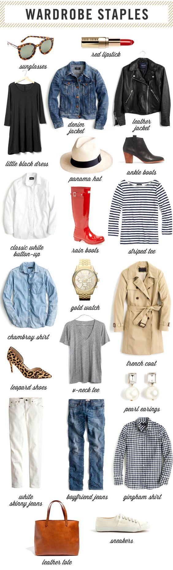 Wardrobe Staples Every Woman Needs — West Coast Capri