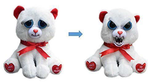 Feisty Pets Taylor Truelove Valentine Plush Bear With Fangs Gift