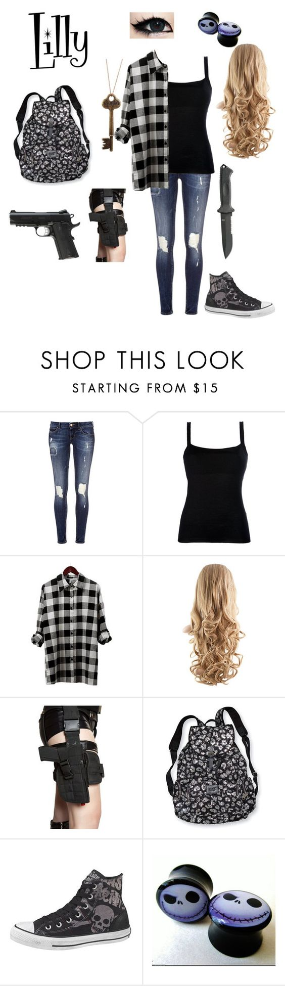 """""""Untitled #101"""" by little-one1228 ❤ liked on Polyvore featuring Valentino, Gerber, Victoria's Secret and Converse"""