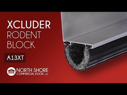 Buy The Xcluder Rodent Block Garage Door Seals At North Shore Commercial Door Starting From Just 7 We Off With Images Unique Garage Doors Garage Doors Garage Door Types