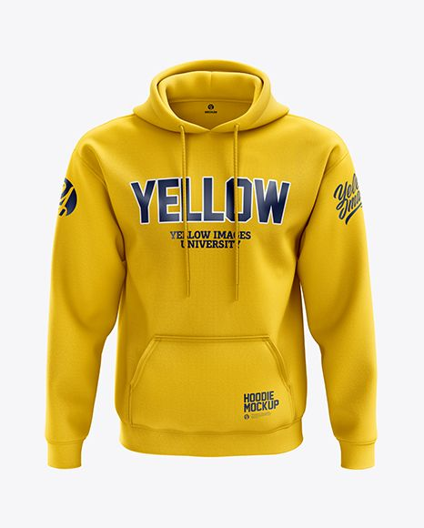 Download Men S Heavyweight Hoodie Mockup Front View In Apparel Mockups On Yellow Images Object Mockups Hoodie Mockup Clothing Mockup Hoodies