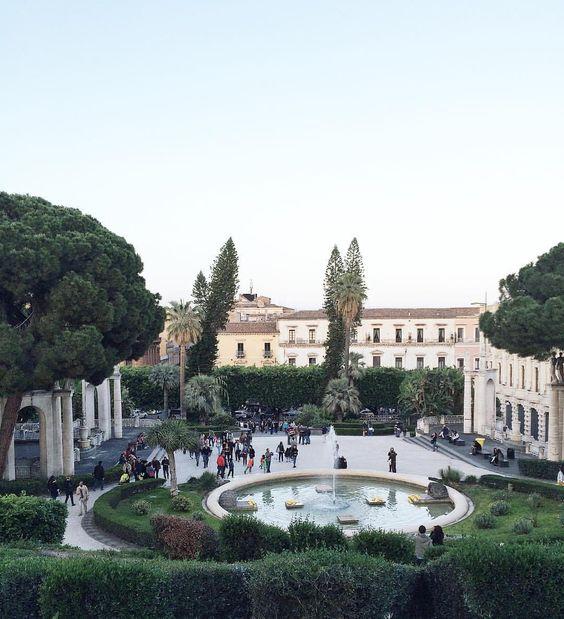 Sabato alla Villa. #sicilianinsta ☀️