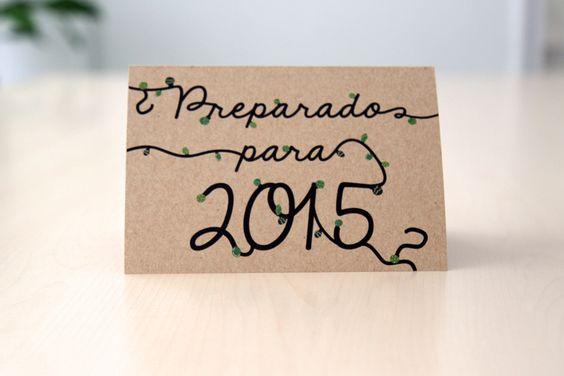 Hermosa postal de nasassocialmedia. Espero que esten muy preparados para este gran año que ser viene !!!!! #feliz2015 A ser #Feliz