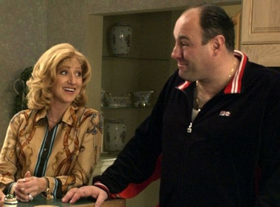 """Tony and Carmela Soprano - """"The Sopranos"""" 