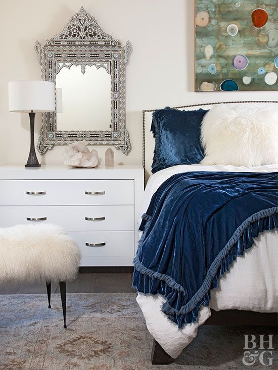 Give Your Bedroom A Quick Style Update And Prepare It For The Season By Layering In Textured Bedding Thro Bed Linens Luxury Bed Linen Design Beautiful Bedding
