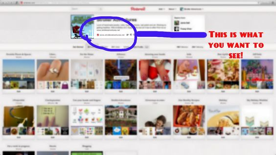 Stroller Adventures: Verifying your Blogger -blog on Pinterest