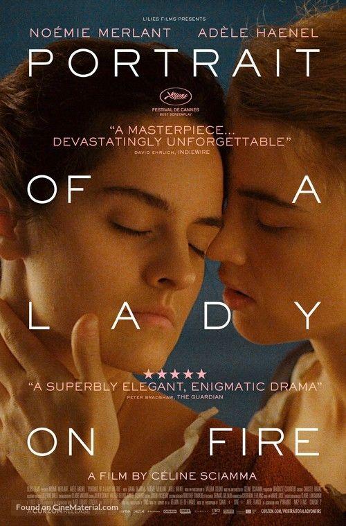 High Resolution British Movie Poster Image For Portrait De La Jeune Fille En Feu 2019 Photography Movies Film Poster Design Fire Movie