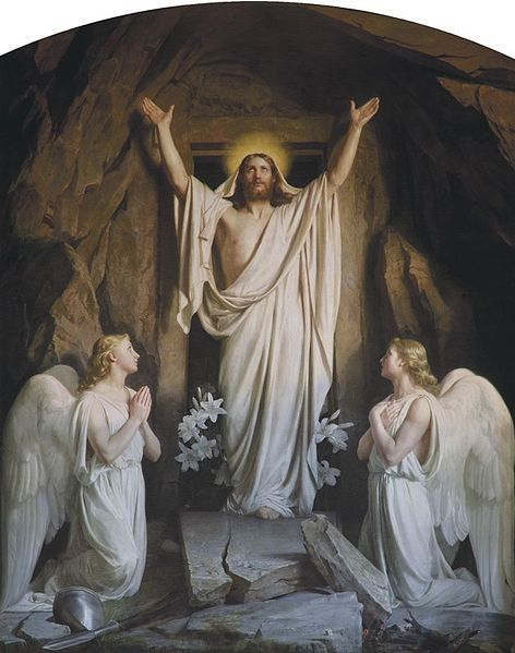 """The Resurrection"" by Carl Heinrich Bloch, 1881"