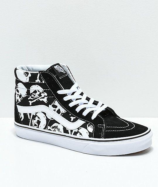 vans scarpe skull