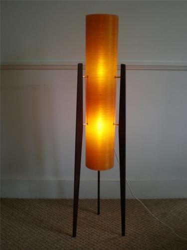 Super Vintage Retro 1960 S 70 S Orange Spun Fibreglass