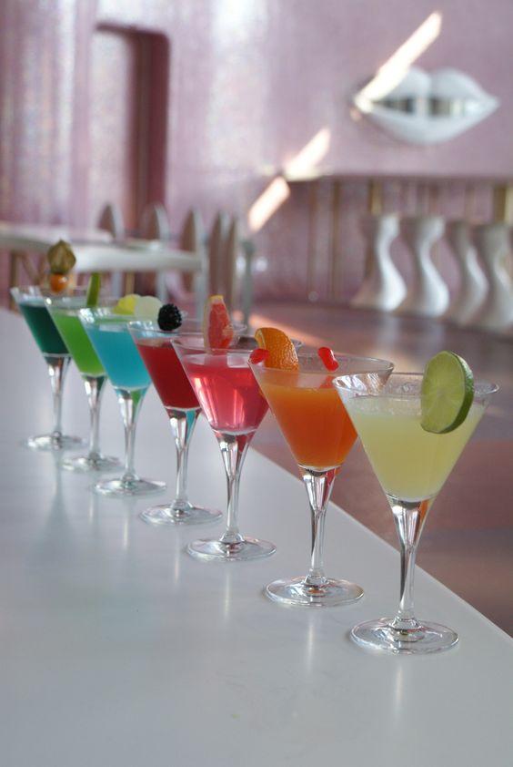 Cocktails en el B-Lounge del Hotel Barcelo Malaga
