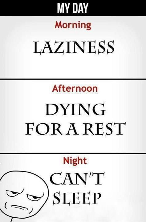 The truth about my day