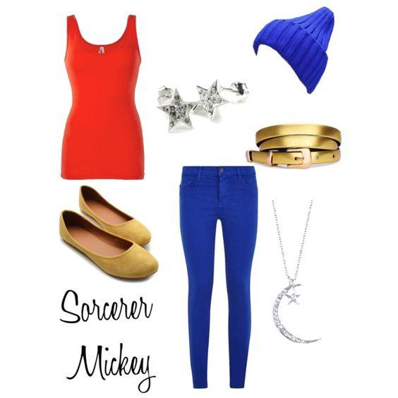 Sorcerer Mickey Disneybound designed by me :)
