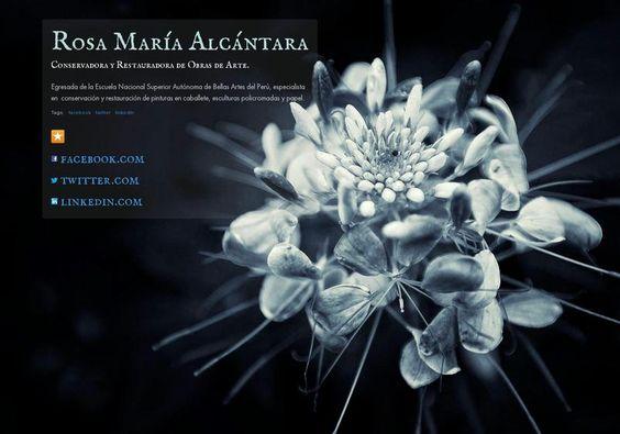 Rosa María Alcántara's page on about.me – http://about.me/rosamariaalcantara