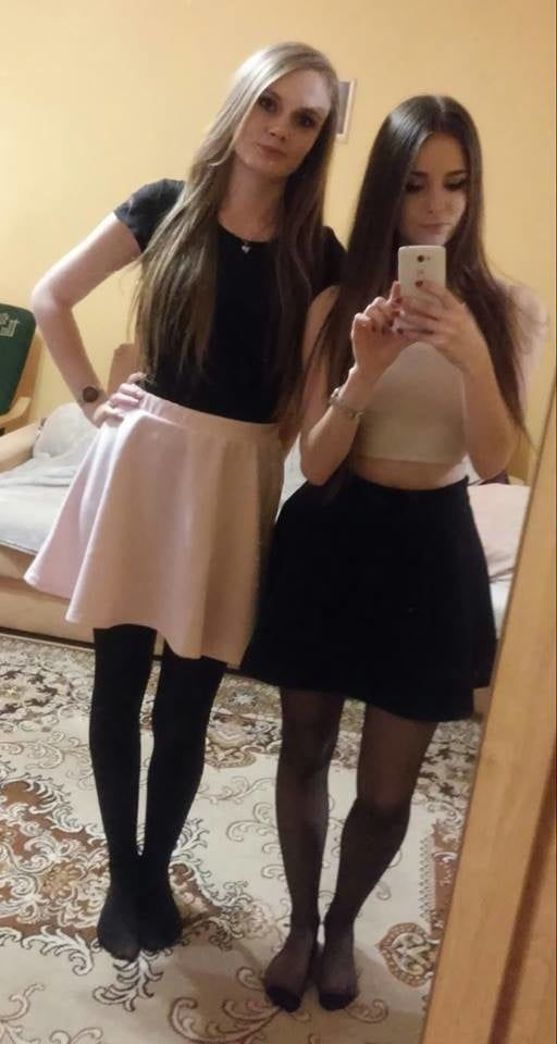 Cute Pantyhose Girls