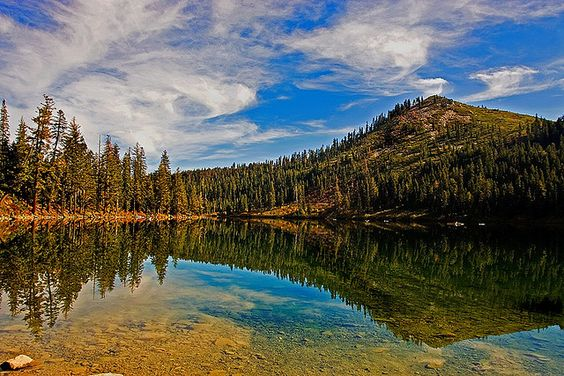 Castle lake mount shasta city siskiyou county northern for Northern california summer camps