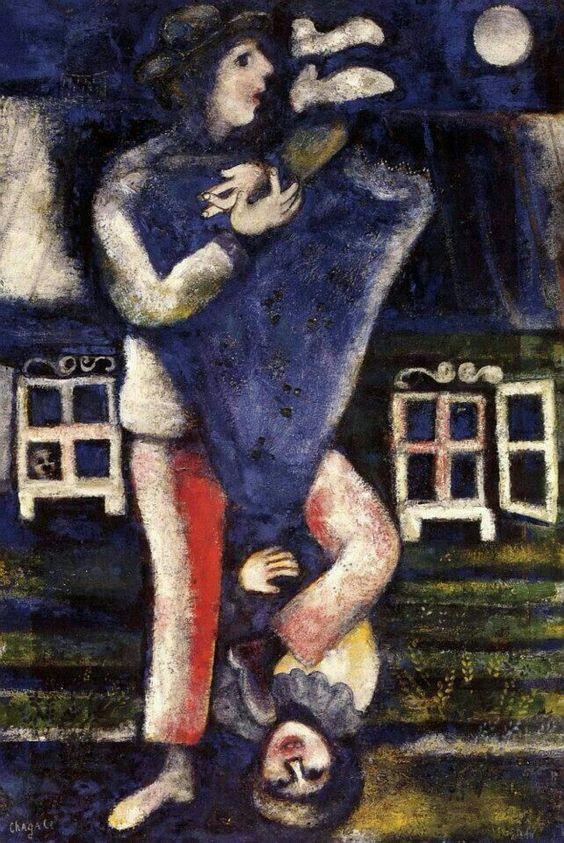 La Promenade, 1929, Marc Chagall