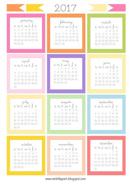 Diy Calendar Card : Free printable mini calendar cards bullet journal