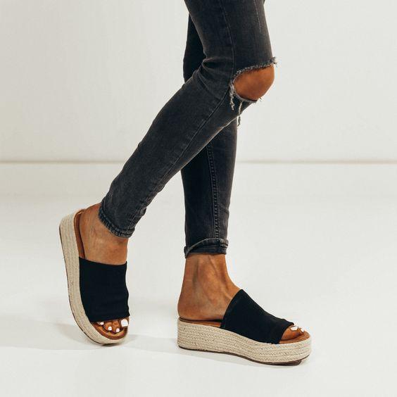 2018 summer sandal platform shoe wedge // shop stevie hender