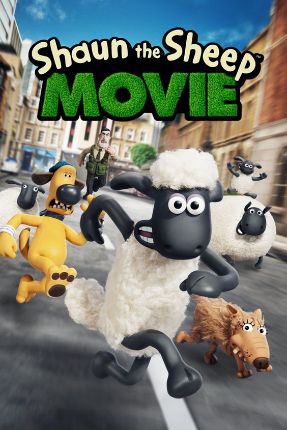 Shaun the Sheep Movie Movie Poster - Justin Fletcher, John Sparkes, Omid Djalili  #ShauntheSheepMovie, #MoviePoster, #Comedy, #JohnSparkes, #JustinFletcher, #OmidDjalili