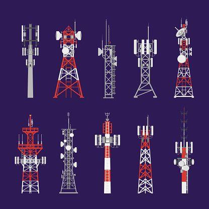 Pin On Communication Tower