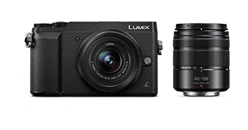 Panasonic Lumix Gx85 Camera With 12 32mm And 45 150mm Lens Bundle 4k 5 Axis Body Stabilization 3 Inch Tilt And Touch Display Dmc Gx85wk Black Usa Best Compact Digital Camera Mirrorless Camera Sony Camera