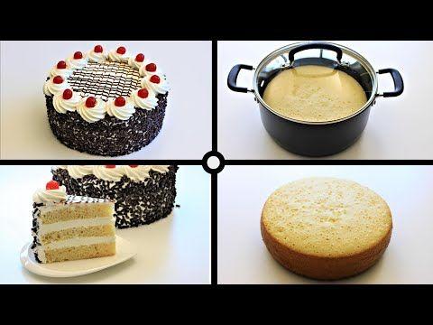 Vanilla Cake Without Oven كيكة عيد ميلاد سهلة في الطنجرة بدون فرن و بدون زبدة Youtube Simple Birthday Cake Hot Chocolate Cookie Recipes Hot Chocolate Cookies