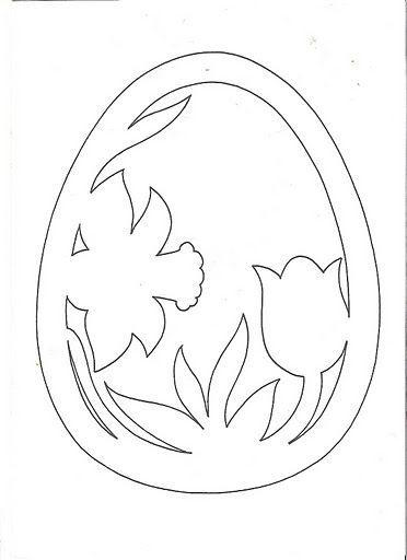 Diy Handmade Jajka Szablon Do Druku Wycinanki Witraz 24 Wzorow Easter Colouring Easter Art Diy Handmade