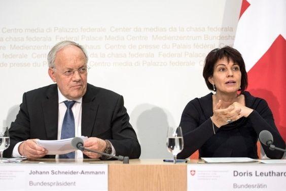 Double retrait de Leuthard et Schneider-Ammann?
