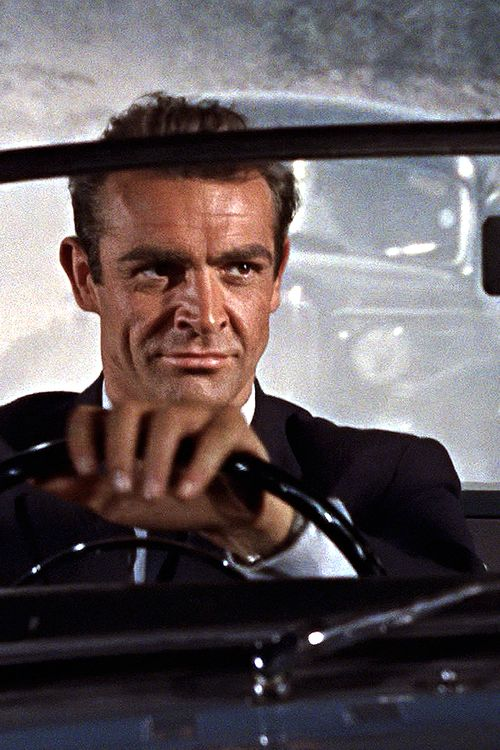 Sean Connery as James Bond: